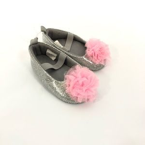Stepping stones baby girl Glitter tulle Shoes